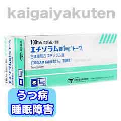 エチゾラム錠【トーワ】通販